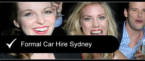 Formal Car Hire Sydney