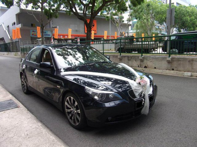 BMW Sedan Limo Hire in Sydney